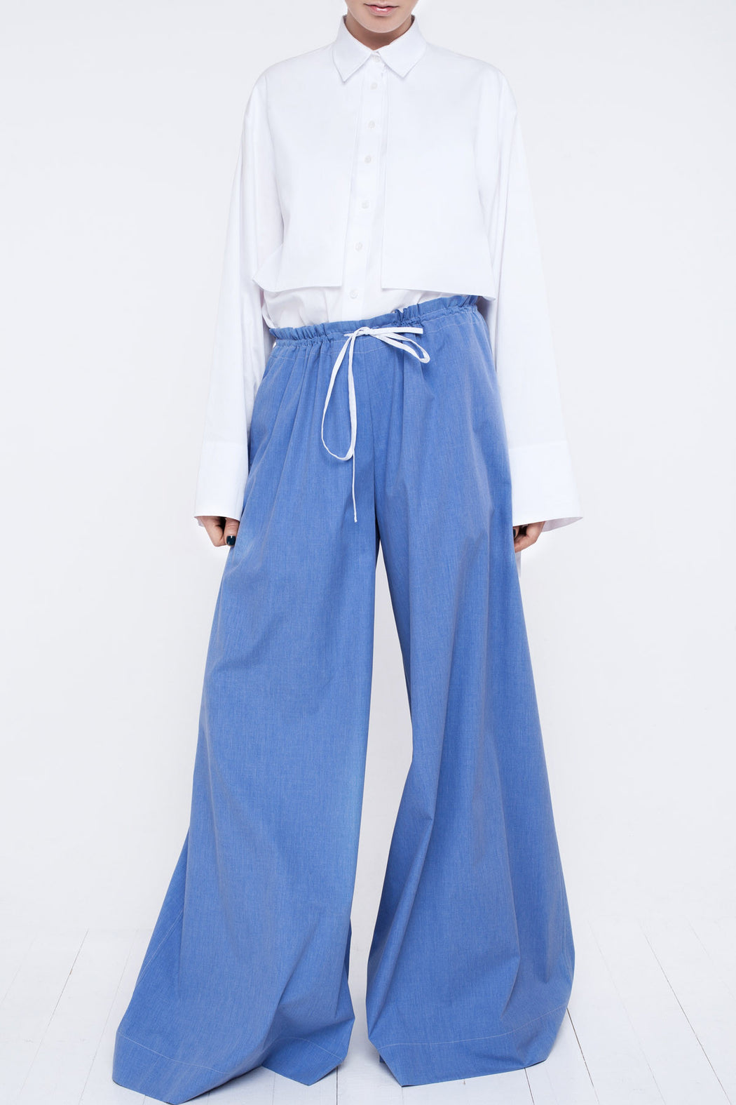 Long Flared Trousers