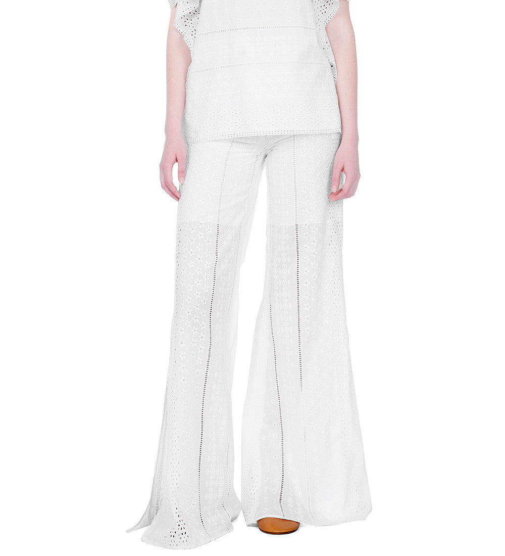 Broderie Anglaise Pants
