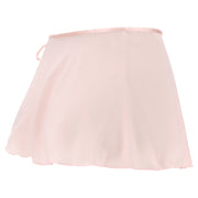 (IT_441K-N_P1_0) Short dance skirt with side tie