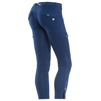 (WRUP6ELI4E-B58) Wr.Up® Shaping Effect - Blue - Low Waist - Skinny