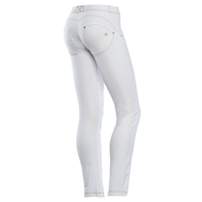Freddy Wr.Up® Shaping Effect - White - Regular Waist - Skinny