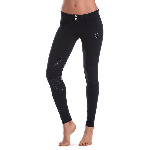 (WRH1LDP5E-N) Wr.UP shaping effect - D.I.W.O - regular waist - skinny - horse- Black