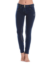 (WRH1LJ5E-JOY) Wr.Up® Shaping Effect - Horse - Blue - Low Waist - Skinny