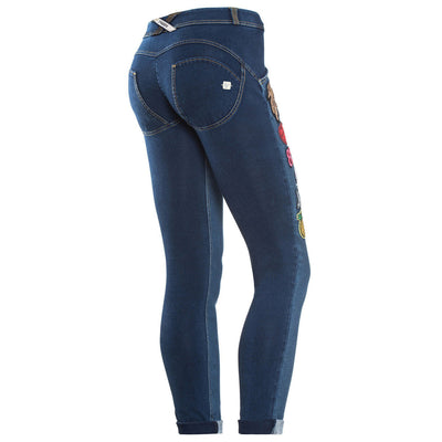 (WRUP1RJ07E-JOY) Wr.Up® Shaping Effect - Blue - Low Waist - Skinny