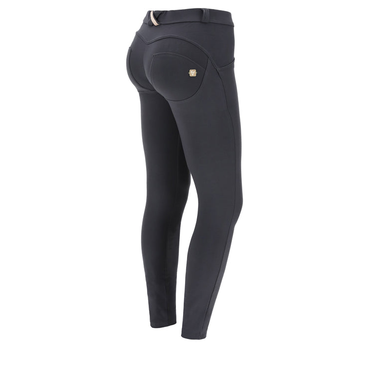 (WRUP1RC001-G100) WR.UP® SKINNY-FIT STRETCH COTTON BLACKENED PEARL PANTS