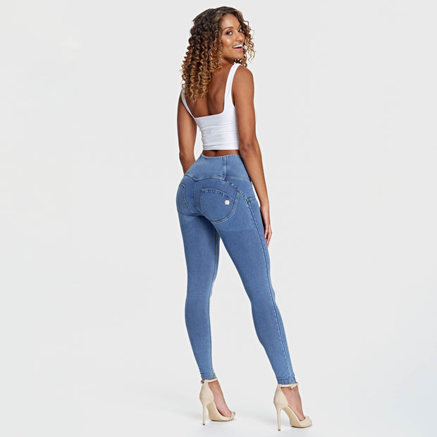 (WRUP2HF932-J4Y) HIGH-RISE SUPER SKINNY PANTS WR.UP® IN DENIM