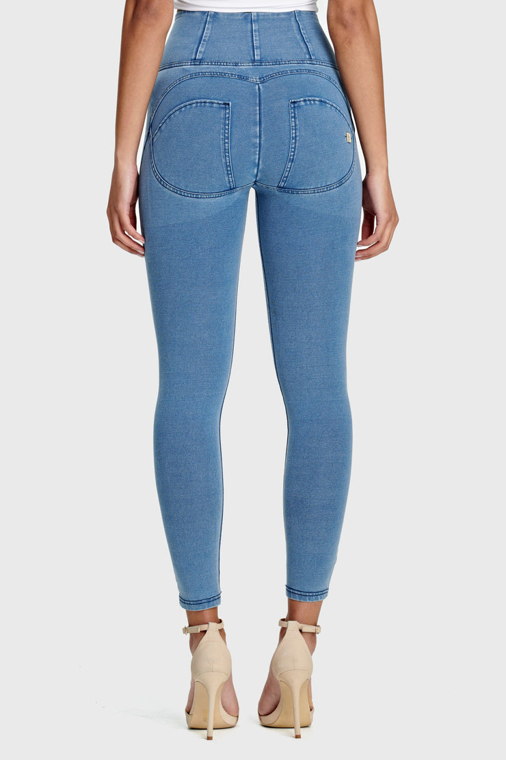 (WRUP4HC002-J4B)SHAPING ANKLE-LENGTH HIGH-RISE WR.UP® SUPER SKINNY PANTS
