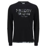 (IT_F0MTRT6) Long sleeve t-shirt with camouflage decorations
