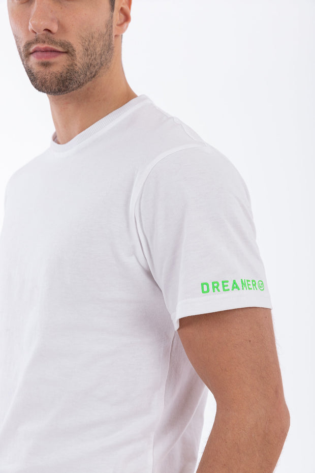 "(IT_F0ULTT2_WD91) T-shirt with ""A Choreography - Dreamer LT"" printed on the back"