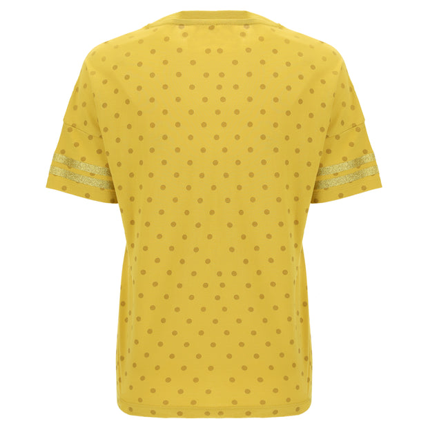 (IT_F0WTRT3C_Y61Y) Polka dot comfort fit FREDDY TRAINING t-shirt.