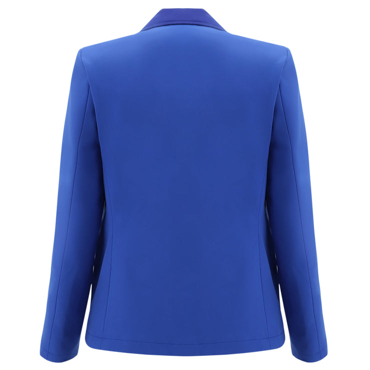 (F0WTWJ1-B12)DINNER JACKET WITH SATIN DETAILS