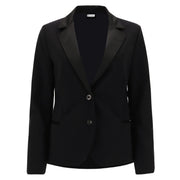 (F0WTWJ1-N)DINNER JACKET WITH SATIN DETAILS