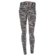 (WRUP1RF03E-ANI2)WR.UP® SKINNY REGULAR RISE IN D.I.W.O.® FABRIC WITH ALL-OVER PRINT