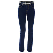 (NOW3MC002-J0Y) N.O.W.® PANTS DENIM-EFFECT SLIM FIT STRAIGHT LEG