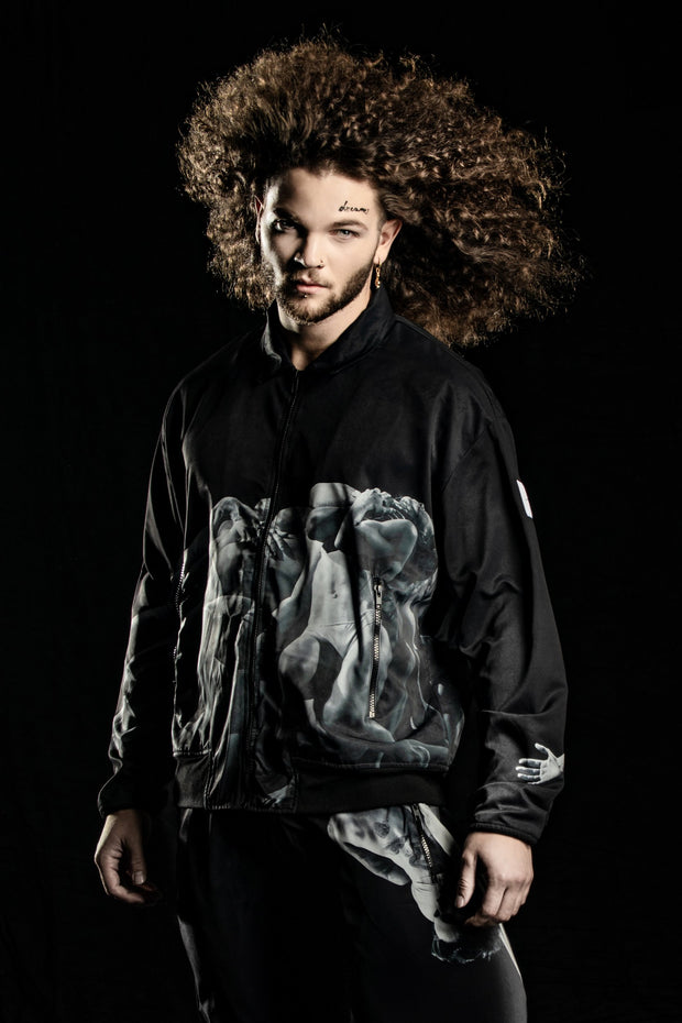 (IT_S0ULTJ1_NW7) Bomber jacket, unisex - A Choreography by Luca Tommassini