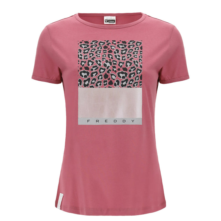 (IT_S0WSLT3_F94) Leopard print t-shirt