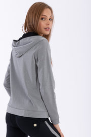 (S0WWTK2-S23N) WR.UP®-IN TRACKSUIT WITH ANKLE-LENGTH SCULPTING TROUSERS AND A LUREX SWEATSHIRT
