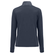 (IT_S1WBCS4_B94) Zip-front comfort-fit sweatshirt with a high neck and jacquard ribbons