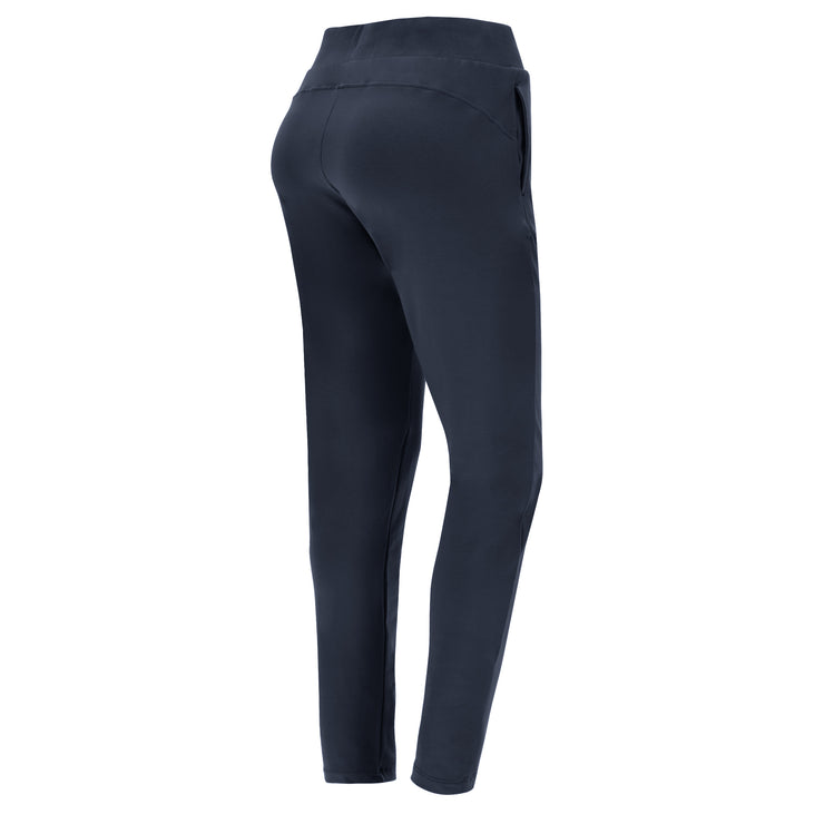 (IT_S1WTRP1_B94) Stretch athletic trousers with a drawstring
