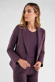 (IT_S1WTWJ2_E41) Women's plain colour blazer