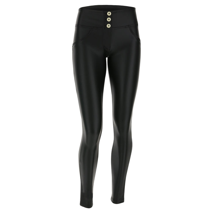 Freddy Wr.Up® Black Pants In Faux Leather