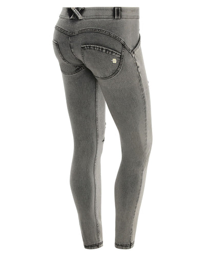 4932bcc3eb Freddy Wr.Up® Corrigerend Effect - Blauw - Lage Taille - Skinny ...