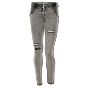Freddy Wr.Up® Shaping Effect - Grey - Regular Waist - Skinny