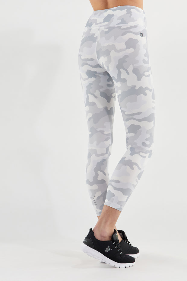 (SF5HS104-CAMO8) BREATHABLE CAMOUFLAGE SUPERFIT WORKOUT LEGGINGS