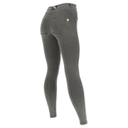 (WRN2RC003-J3Y) SHAPING CURVY-FIT WR.UP® PANTS IN LIGHT DENIM