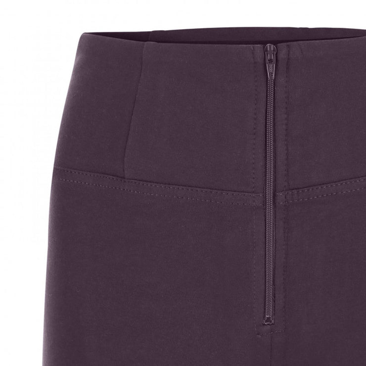 (WRUP1HC001-E41) WR.UP® HIGH-WAIST PURPLE SKINNY-FIT TROUSERS IN STRETCH COTTON