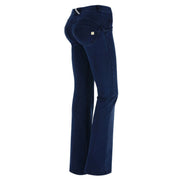 (WRUP11RC002-J0B) WR.UP® FLARE REGULAR-RISE STRETCH DENIM BLUE PANTS