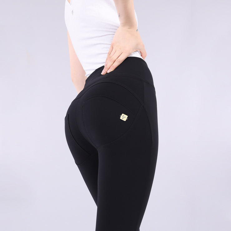(WRUP1HC005-N)WR.UP® HIGH WAIST SKINNY-FIT PANTS IN D.I.W.O.® PRO MADE IN ITALY