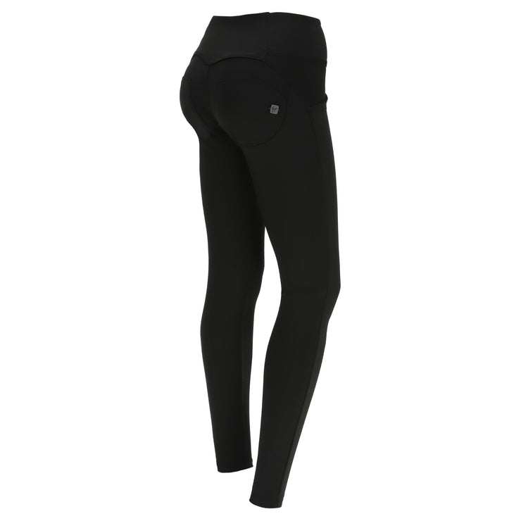 (WRUP1MS008-NL) WOMEN'S BLACK LUREX WR.UP® SKINNY PANTS