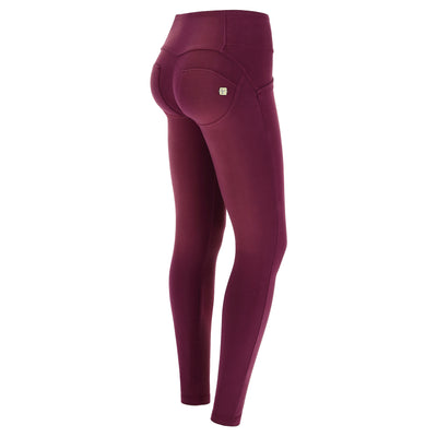 Freddy Wr.Up® Mid-Rise Skinny Purple Pants With Buttons