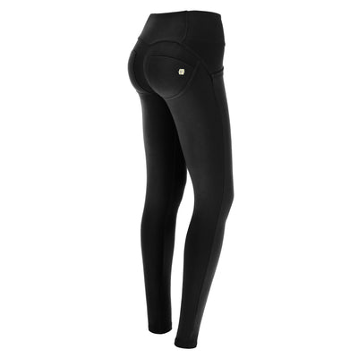 (WRUP1MS917-N) WR.UP® MID-RISE SKINNY BLACK PANTS WITH BUTTONS