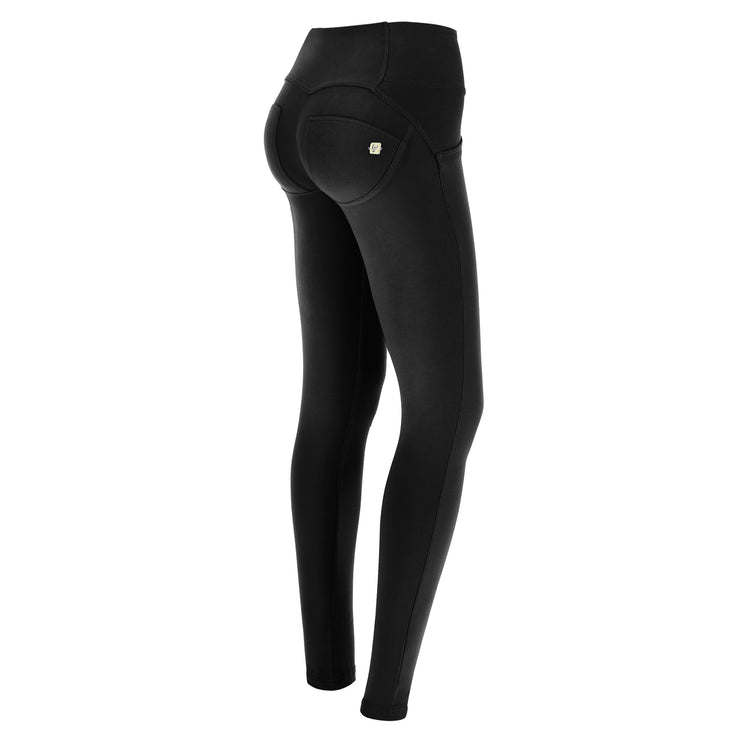 Freddy Wr.Up® Mid-Rise Skinny Black Pants With Buttons