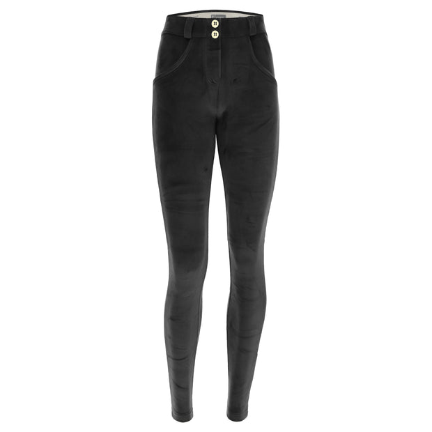 (IT_WRUP1RC010_N) Chenille WR.UP® sculpting skinny trousers
