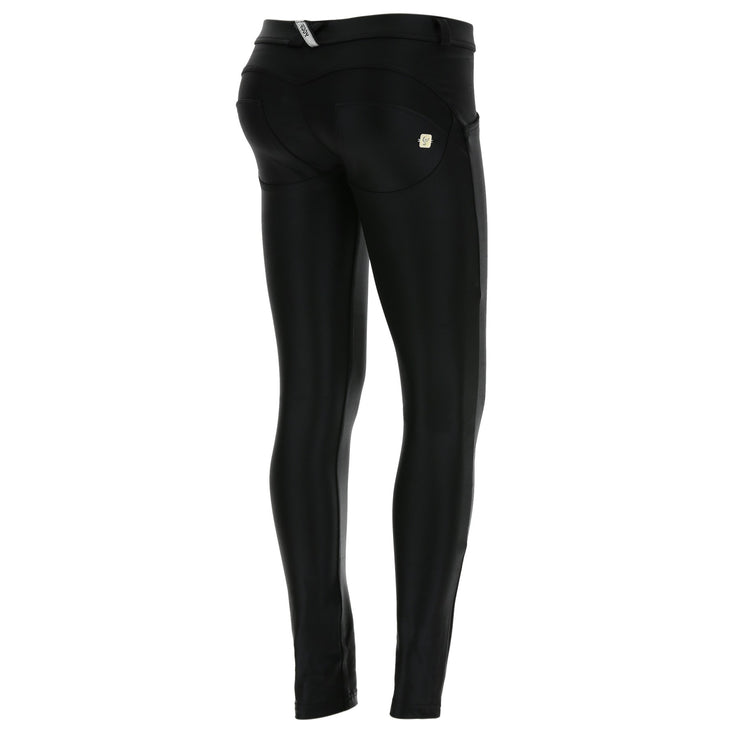Freddy Wr.Up® Regular-Rise Skinny-Fit Black Pants In Lurex D.I.W.O.®
