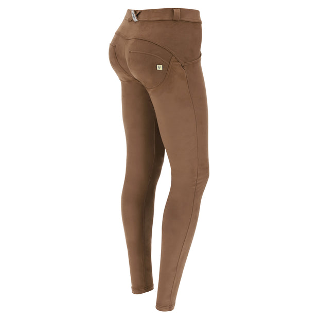 (WRUP1RS026-M34)WOMEN'S SUEDE-EFFECT SHAPING WR.UP® PANTS