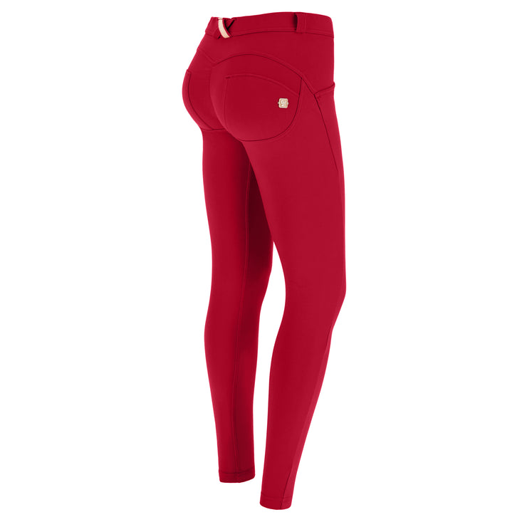 (WRUP2RC001-R102) WR.UP® REGULAR-WAIST SUPER SKINNY RED PANTS