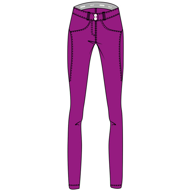 (WRUP2RC004-E52)WR.UP® REGULAR-WAIST SUPER SKINNY PANTS IN D.I.W.O.®