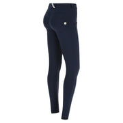 (WRUP2RC005-B94) WR.UP® REGULAR-WAIST SUPER SKINNY BLUE PANTS IN D.I.W.O.® PRO