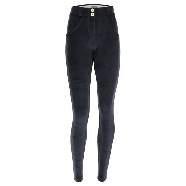 (WRUP2RC010-B94) VELVET SUPER SKINNY WR.UP® SCULPTING BLUE PANTS