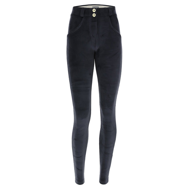 (IT_WRUP2RC010_B94) Chenille super skinny WR.UP® sculpting trousers