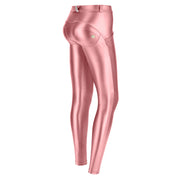 Freddy Metallic Regular-Rise Wr.Up® Super-Skinny Pink Pants