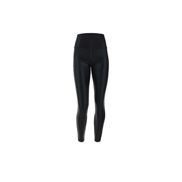 (WRUP4HF046-N) ANKLE-LENGTH WR.UP® SHAPING SUPER SKINNY TROUSERS WITH FAUX LEATHER INSERTS