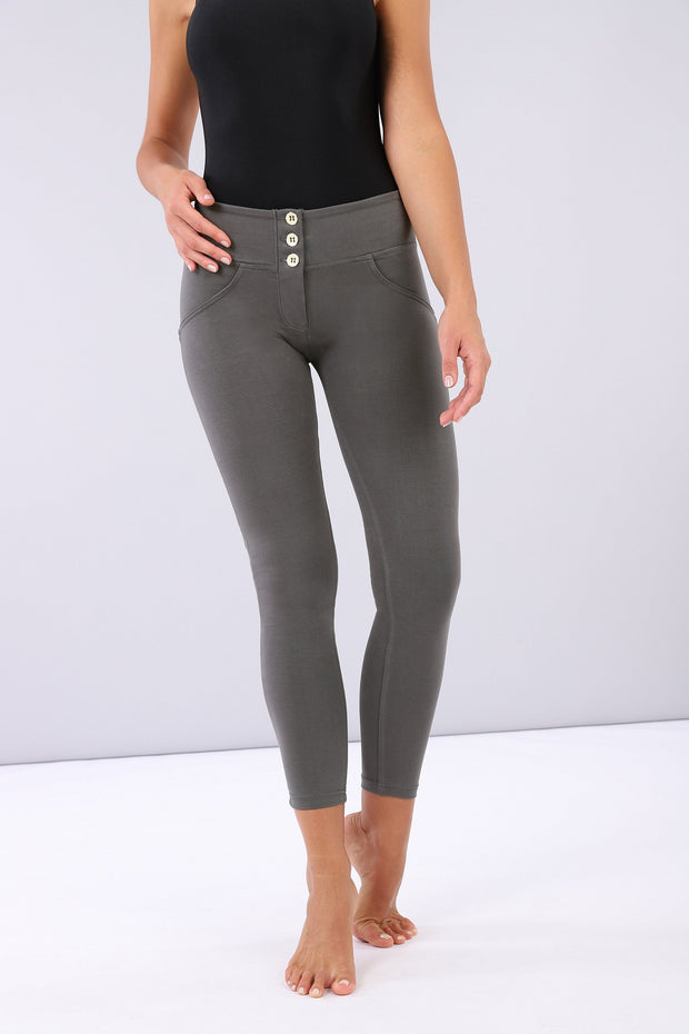 (IT_WRUP4MC001_G14) Shaping ankle-length mid-rise WR.UP® super skinny trousers