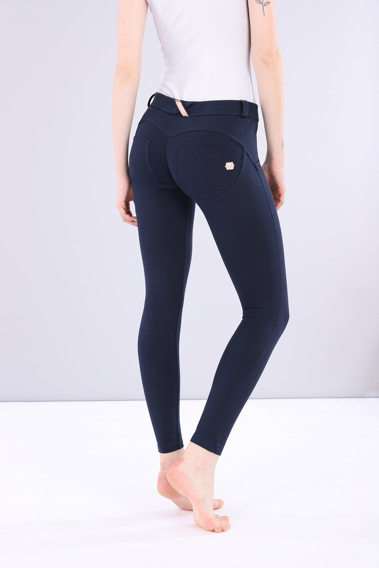 (IT_WRUP4RC001_B94_0) WR.UP® regular-rise super skinny ankle-length stretch cotton trousers