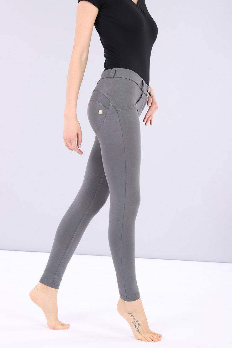 (IT_WRUP4RC001_G14_0) WR.UP® regular-rise super skinny ankle-length stretch cotton trousers