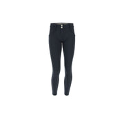 (WRUP4RF042-B94) PINSTRIPE SUPER-SKINNY WR.UP® PANTS IN DARKBLUE
